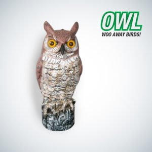Pestrol owl repeller