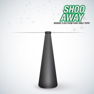 shoo-away fly repeller