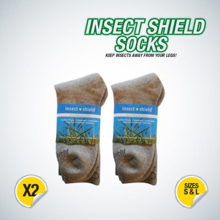 Insect repelling socks