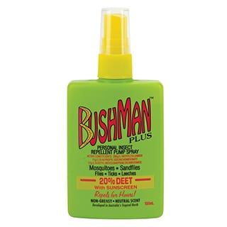 bushman insect spray