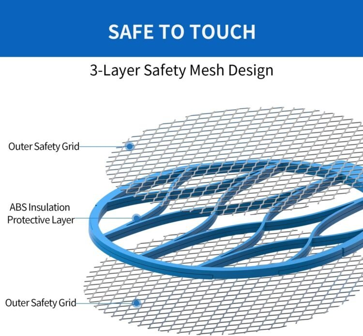 3 layers of safety for your fly zapper