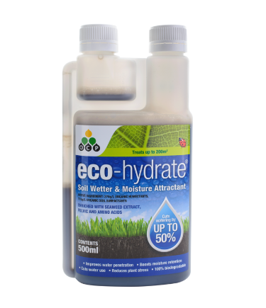 Eco-Hydrate Soil Wetter & Moisture Attractant 500ml - OCP