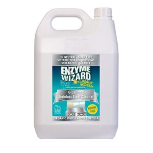 Enzyme Wizard Glass & Stainless Steel Cleaner - 5L