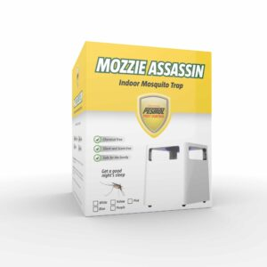 Mozzie Assassin - Indoor Electronic Mosquito Trap Demo - YELLOW